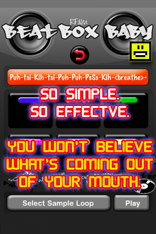 Screenshot Beat-Box Baby: Voice Drum Machine
